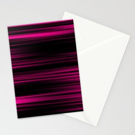 Pink & Black Stationery Cards
