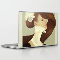 lace Laptop & iPad Skins featuring Lace by Jumei