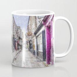 The Shambles York Snow Art Coffee Mug