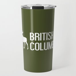 British Columbia Moose Travel Mug