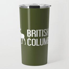 British Columbia Moose Travel Mug