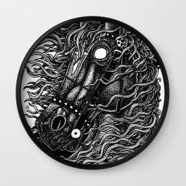 Occult horse Wall Clock