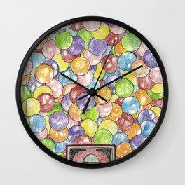 Gumballs Wall Clock