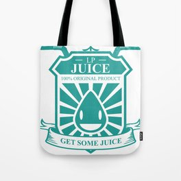 Juice Badge Tote Bag