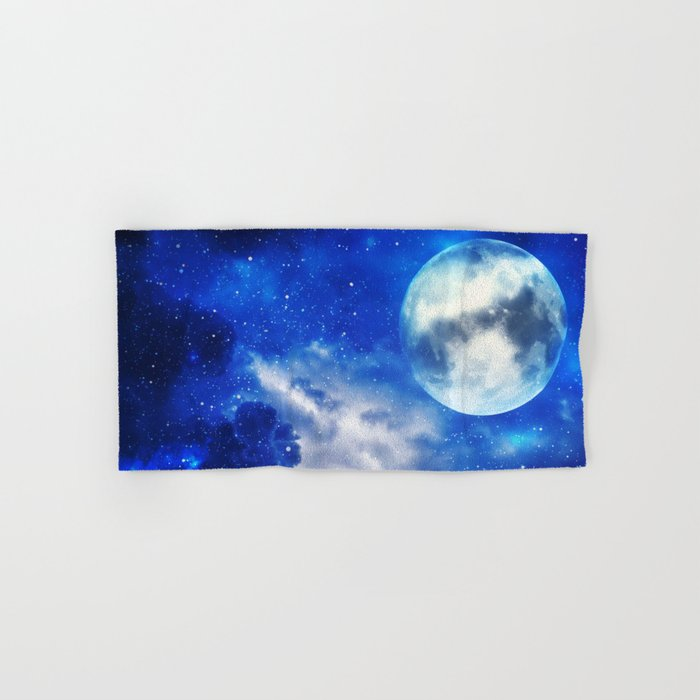 Full Moon Hand & Bath Towel
