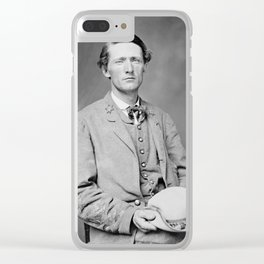 Colonel John S. Mosby - The Gray Ghost Clear iPhone Case