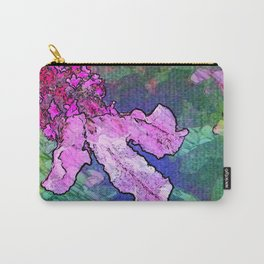 Pink Lavender in Garden Carry-All Pouch