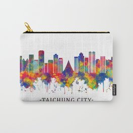 Taichung City Taiwan Skyline Carry-All Pouch