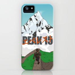 Peak 15 iPhone Case
