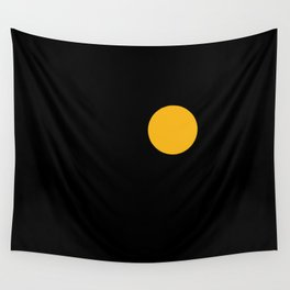 yellow point Wall Tapestry