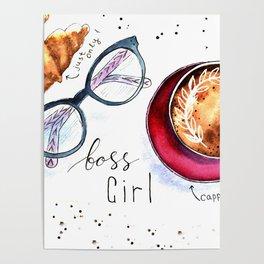 Boss girls rock! Poster