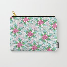 Doodly Flowers Carry-All Pouch
