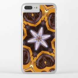 Hearts (from a JCB earth-mover) Clear iPhone Case