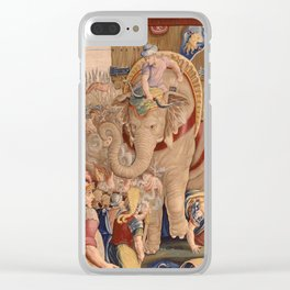 The Battle of Zama Clear iPhone Case