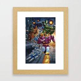 Wreck n Rule! Framed Art Print