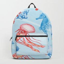 Marine Pattern 09 Backpack