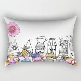 Girls Day Out Rectangular Pillow