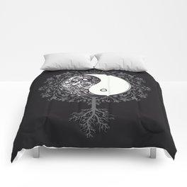 Yin Floral Yang Comforters