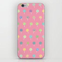 Cute Lollipop Pattern iPhone Skin