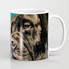 Pop art Mastiff dog portrait Coffee Mug