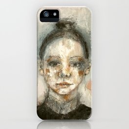mademoiselle iPhone Case