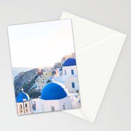 242. Santorini's View, Greece Stationery Cards