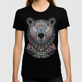 Neon Tribal Bear T-shirt