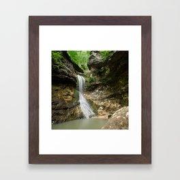 Eden Falls Framed Art Print