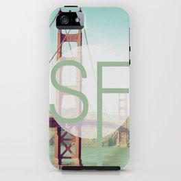 San Francisco Love iPhone Case