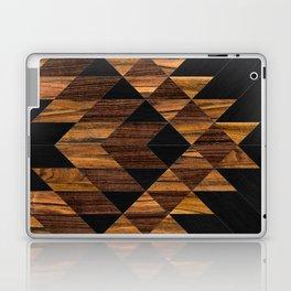 Urban Tribal Pattern 11 - Aztec - Wood Laptop & iPad Skin