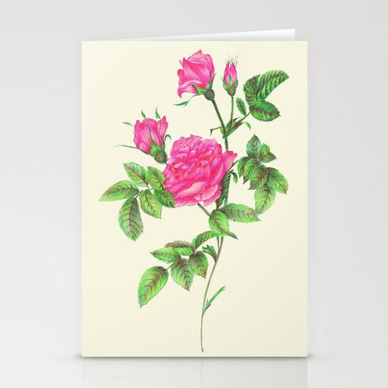 Ballpoint Pen, Redouté's Roses Stationery Cards