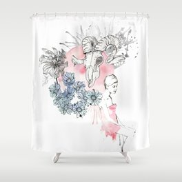 Twiggy's Dream Shower Curtain
