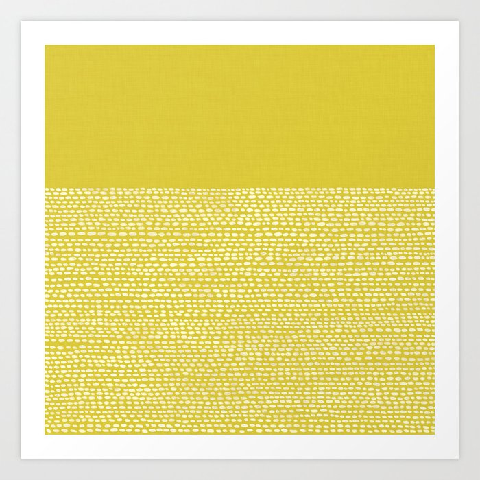 Riverside(Yellow) Art Print