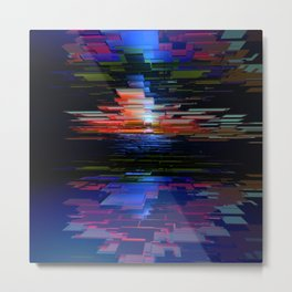 Abstract Composition 357 Metal Print