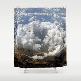 Heart Of Storm Shower Curtain