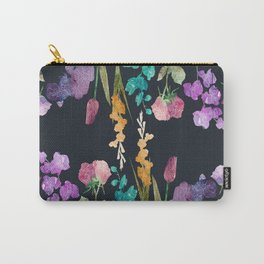 Flowers vs Flowers at Nigth Carry-All Pouch