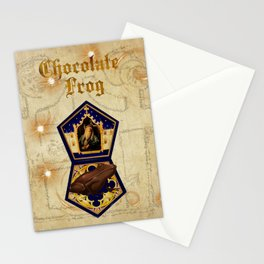Chocolate Frog Stationery Cards