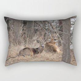 White-Tailed Deer Rectangular Pillow