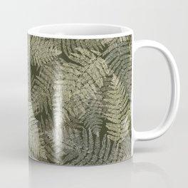 Fern Linear Leaves Coffee Mug