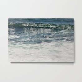 Aqua Teal Deal Metal Print