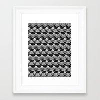 fireflies Framed Art Prints featuring Fireflies by Georgiana Paraschiv