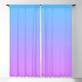 Vaporwave Gradient Blackout Curtain