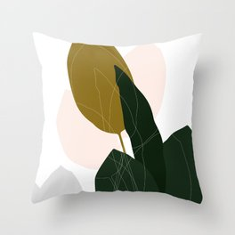Exotic Day Throw Pillow