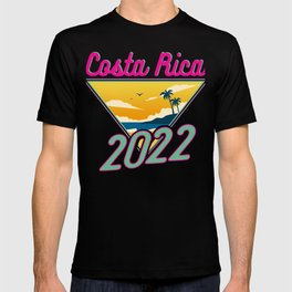 Costa Rica Vacation 2022 Fun Vacation Traveler Gift T-shirt