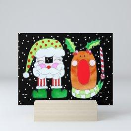 HO! Mini Art Print