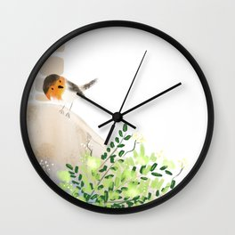 Drop by Drop Wall Clock