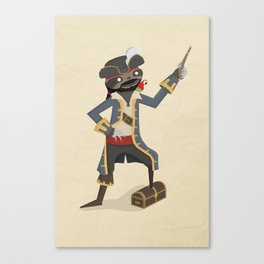 Long John Slothver Canvas Print