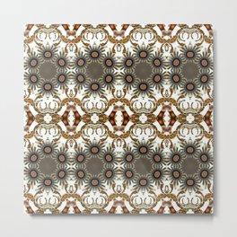 Resurrect Pattern 1 Metal Print