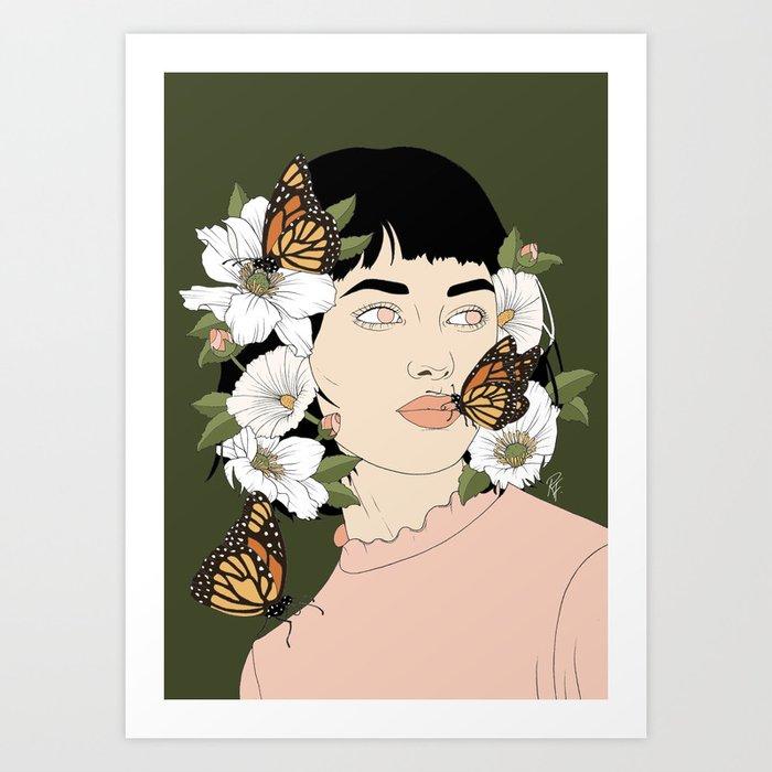 Butterfly Kisses Kunstdrucke
