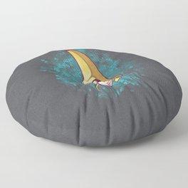 Banana Squid!!! Floor Pillow